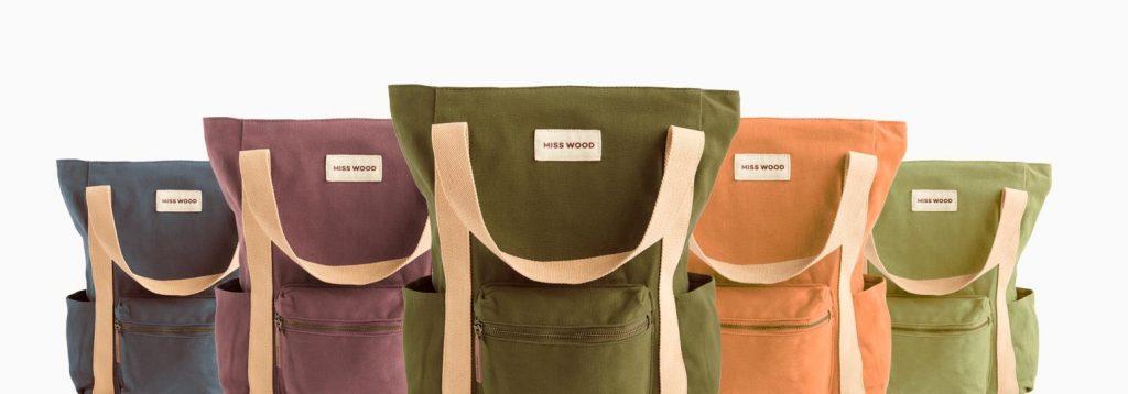 motxilles backpack de misswood amb diferents colors